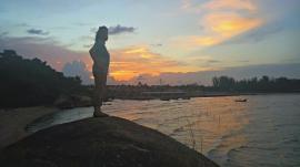 Sunset Songkhla
