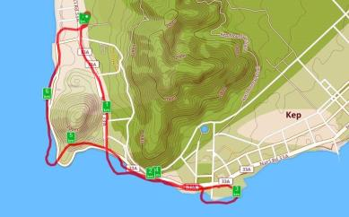Kep run map